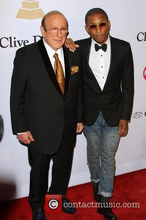 Clive Davis and Pharrell Williams