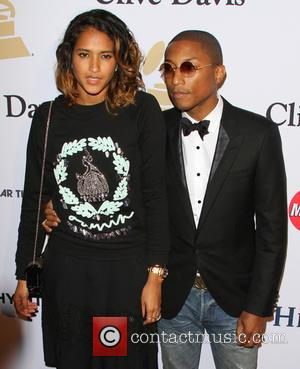 Pharrell Williams and Wife Helen Lasichan