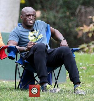 Seal - Heidi Klum and Seal watch their kids play soccer in Brentwood - Los Angeles, California, United States -...