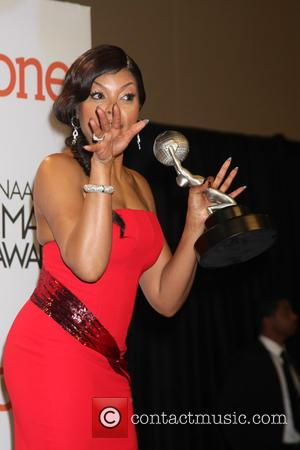 Taraji P. Henson - NAACP Image Awards 2015 Press Room at Pasadena Civic Auditorium - Pasadena, California, United States -...