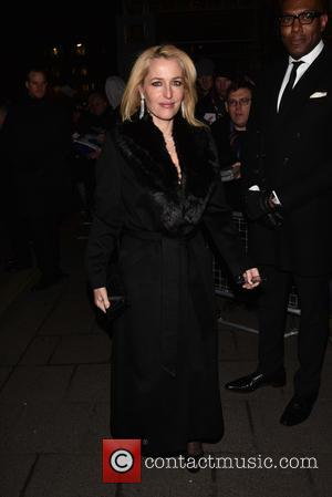 Gillian Anderson - Pre-BAFTA dinner at Annabelle's hosted by Charles Finch and Chanel - London, United Kingdom - Saturday 7th...
