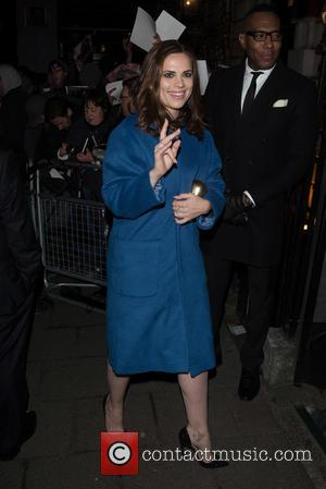 Hayley Atwell - Pre-BAFTA dinner at Annabelle's hosted by Charles Finch and Chanel - London, United Kingdom - Saturday 7th...