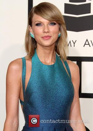Taylor Swift - 57th Annual GRAMMY Awards held at the Staples Center - Red Carpet Arrivals at Staples Center, Grammy...