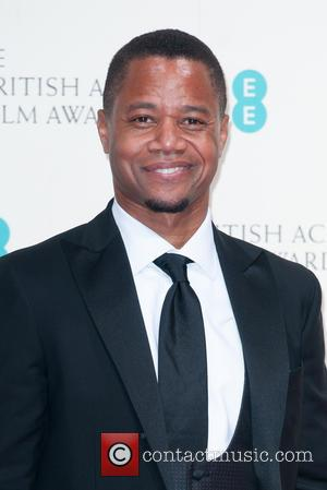 Cuba Gooding Jnr - Various stars of film and television were photographed after the EE British Academy of Film and...