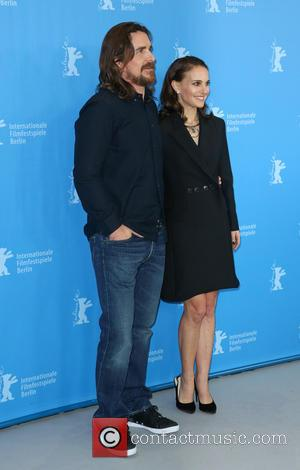 Christian Bale and Natalie Portman - 65th Berlin International Film Festival (Berlinale) - 'Knight of Cups' - Photocall at Grand...