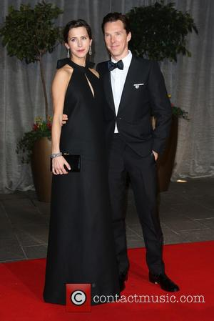 Benedict Cumberbatch and Sophie Hunter Mark V-Day with Unannounced Wedding