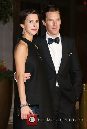 Benedict Cumberbatch and Sophie Hunter - A variety of stars were photographed at the EE British Academy of Film and...