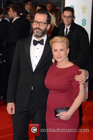 Patricia Arquette and Guest - EE British Academy Film Awards (BAFTA) held at The Royal Opera House - Arrivals at...