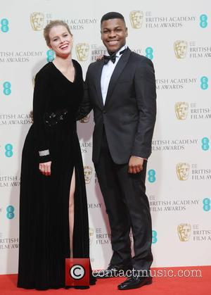 Alice Eve and John Bodeya - Various stars of film and television were photographed after the EE British Academy of...