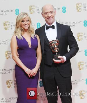Reese Witherspoon and JK Simmons - Various stars of film and television were photographed after the EE British Academy of...