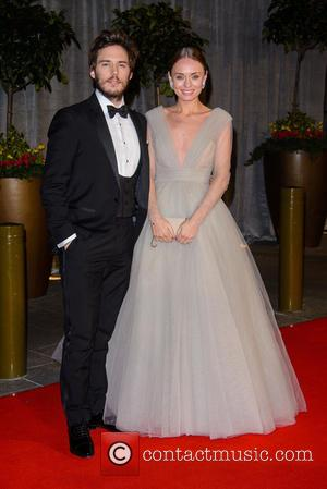 Grosvenor House, BAFTA, Sam Claflin, Laura Haddock