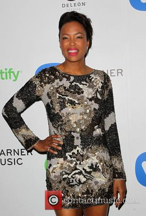 Aisha Tyler - A variety of stars were photographed as they arrived to the Warner Music Group post Grammy Party...