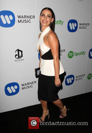 Jessica Lowndes - A variety of stars were photographed as they arrived to the Warner Music Group post Grammy Party...