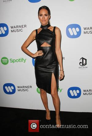 Louise Roe - Warner Music Group Grammy After-Party at Chateau Marmont, Grammy - Los Angeles, California, United States - Sunday...