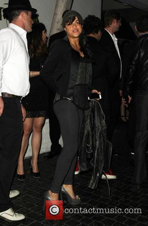 Michelle Rodriguez - A variety of stars were photographed as they arrived to the Warner Music Group post Grammy Party...