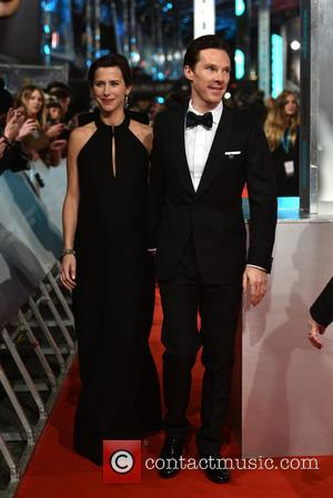 Benedict Cumberbatch and Sophie Hunter - Various stars of film and television were photographed on the red carpet as they...