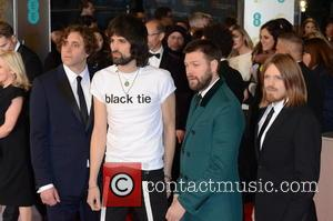 Kasabian - Various stars of film and television were photographed on the red carpet as they arrived for the the...