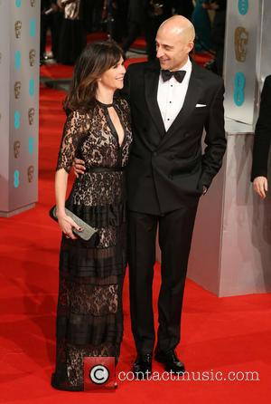 Mark Strong and Liza Marshall - Various stars of film and television were photographed on the red carpet as they...