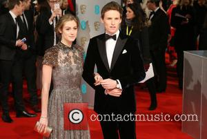 Eddie Redmayne and Hannah Bagshawe - The EE British Academy Film Awards (BAFTA) 2015 - Arrivals - London, United Kingdom...