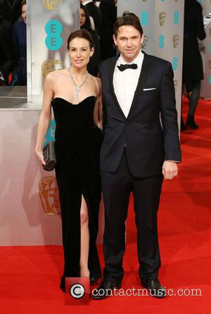 Dougray Scott and Claire Forlani - Various stars of film and television were photographed on the red carpet as they...