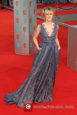 Edith Bowman - Various stars of film and television were photographed on the red carpet as they arrived for the...