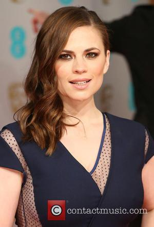Hayley Atwell Suffers Wardrobe Disaster At Baftas