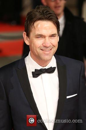 Dougray Scott - Various stars of film and television were photographed on the red carpet as they arrived for the...