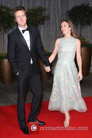 Edward Norton and Shauna Robertson - The EE British Academy Film Awards (BAFTA) 2015 Official After Party held at the...