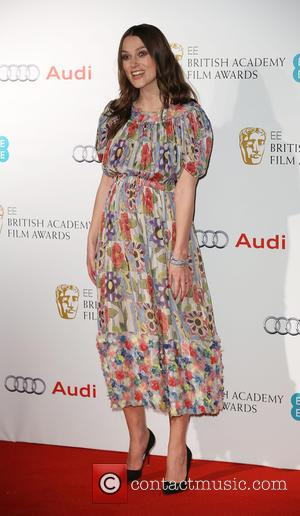 Keira Knightley - Various stars of film and television were photographed as they arrived for the the EE British Academy...