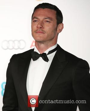 Luke Evans - Various stars of film and television were photographed as they arrived for the the EE British Academy...