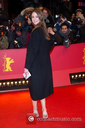 Sandra von Ruffin - 65th Berlin International Film Festival (Berlinale) -'Knight of Cups' premiere - Red Carpet Arrivals - Berlin,...