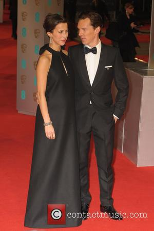 Benedict Cumberbatch and Sophie Hunter - the EE British Academy Film Awards held at The Opera House at British Academy...