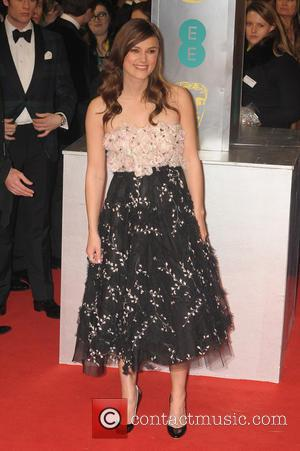 Keira Knightley - the EE British Academy Film Awards held at The Opera House at British Academy Film Awards -...