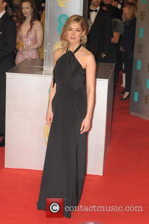 Rosamund Pike - the EE British Academy Film Awards held at The Opera House at British Academy Film Awards -...