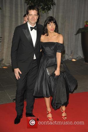 Kris Thykier and Claudia Winkleman