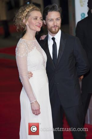 Anne-Marie Duff and James McAvoy - The British Academy Film Awards (BAFTA) at Royal Opera House - Arrivals - London,...