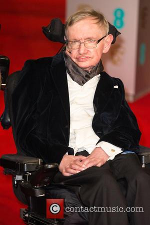 Professor Stephen Hawking - Various stars of film and television were photographed on the red carpet as they arrived for...