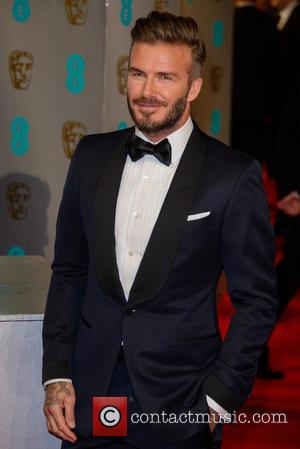 David Beckham - Various stars of film and television were photographed on the red carpet as they arrived for the...