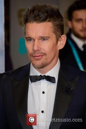 Ethan Hawke - Various stars of film and television were photographed on the red carpet as they arrived for the...