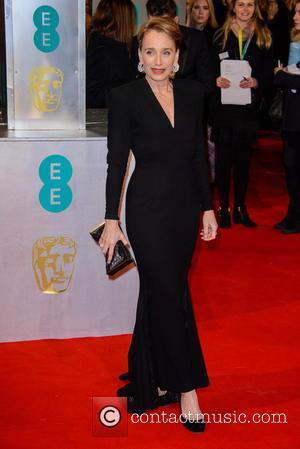 Kristin Scott Thomas - Various stars of film and television were photographed on the red carpet as they arrived for...