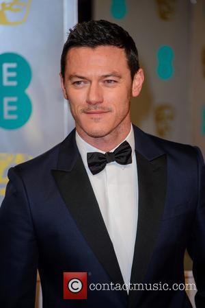 Luke Evans - Various stars of film and television were photographed on the red carpet as they arrived for the...