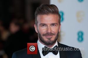 David Beckham - EE British Academy Film Awards (BAFTA) at The Royal Opera House - Red Carpet Arrivals at Covent...