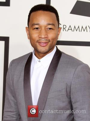 John Legend - A variety of stars from the music industry all turned out in style to attend the 57th...
