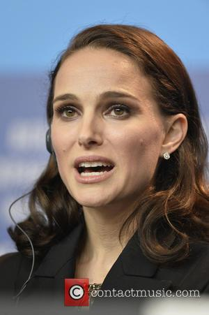 Natalie Portman - American movie stars Natalie Portman and Christian Bale were photographed at the 65th Berlin International Film Festival...