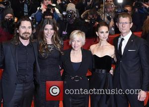 Christian Bale, Sibi Blazic and Natalie Portman