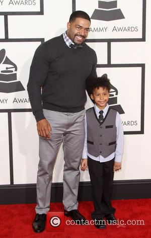 David Otunga and David Otunga Jr - 57th Annual GRAMMY Awards held at the Staples Center in Los Angeles. at...
