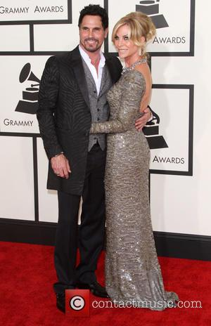 Don Diamont and Cindy Ambuehl - 57th Annual GRAMMY Awards held at the Staples Center in Los Angeles. at Staples...