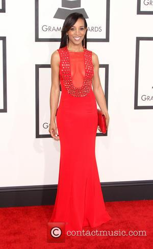 Shaun Robinson - 57th Annual GRAMMY Awards held at the Staples Center in Los Angeles. at Staples Center, Grammy Awards...