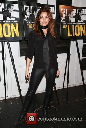 Gina Gershon - Opening night for The Lion at the Lynn Redgrave Theatre - Arrivals. at Lynn Redgrave Theatre, -...