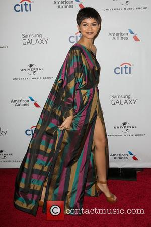 Zendaya - Celebrities attend Universal Music Group's Grammy After Party presented by American Airlines and Citi at The Theatre at...